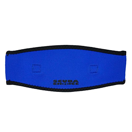 Scuba Choice Adult Comfort Neoprene Mask Strap Cover, Blue