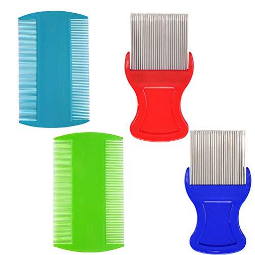 Hair Comb,Fine Tooth Comb,Removing Dandruff Flakes (Fine Lice Comb)
