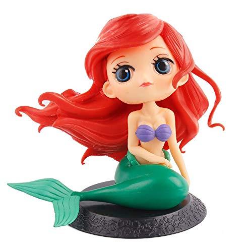 Big Eyes Mermaid Doll Cake Topper, Super Cute Cake Cupcake Topper for Christmas,Wedding Birthday Party ()