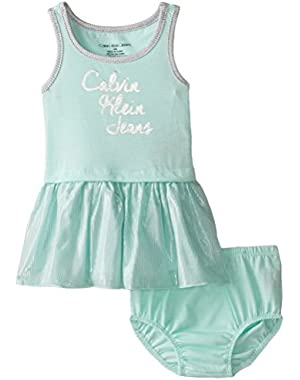 Baby Girls' Tank Dress and Panty