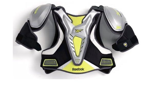 Amazon Com Reebok Lacrosse Protector 3k Shoulder Pads Black X Small Sports Outdoors