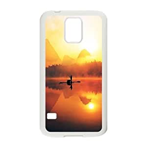Sunset Design Top Quality DIY Hard Case Cover for SamSung Galaxy S5 I9600, Sunset Galaxy S5 I9600 Phone Case