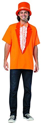 [Rasta Imposta Men's Dumb and Dumber T-Shirt Kit Orange, Orange, One Size] (Orange Hat Costume)