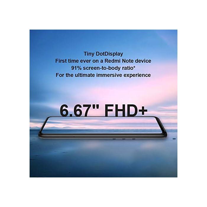 """41yjWgwmdjL Haz clic aquí para comprobar si este producto es compatible con tu modelo Apariencia: teléfonos inteligentes Xiaomi Redmi Note 9S hechos con pantalla de pantalla completa Dot Drop de 6.67"""", parte posterior de cristal curvado 3D para un buen agarre y máxima comodidad. La relación de pantalla del Note 9S es 91.8%, proporciona la máxima visibilidad. Lente de la Cámara: Cámara trasera Cámara principal de 48MP de resolución ultra alta, modo nocturno para fotos más nítidas con detalles exquisitos. Cámara ultra gran angular de 8MP ultra 1.3 veces. Cámara macro de 5MP, primer plano de distancia mínima de 2 cm, explore las maravillas de los detalles. Modo de retrato AI con sensor de profundidad de 2MP con ajuste de desenfoque de fondo, captura retratos como un director de cine con modo de película."""