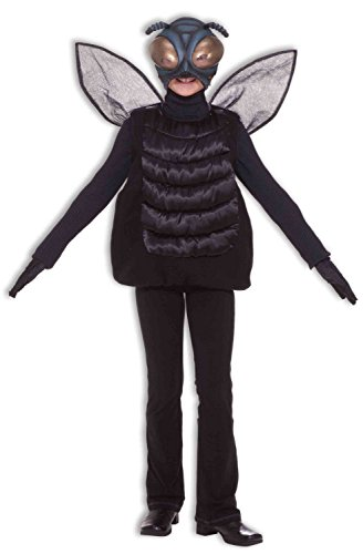 Adult Fly Costumes (Forum Novelties Human Fly Child Tunic and Mask Costume)