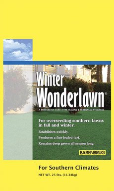 Barenbrug Winter Wonderlawn Overseeding Lawn Mix 10000 Sq. Ft. Bagged 25 Lb.