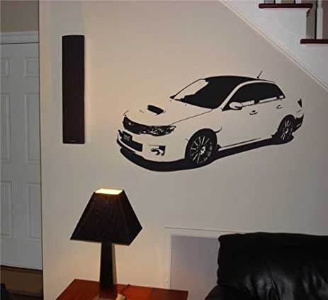 Subaru Impreza WRX STI Wall Art Sticker Decal 023 & Amazon.com: Subaru Impreza WRX STI Wall Art Sticker Decal 023: Home ...