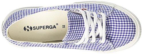 check White Blue 2750 Superga Zapatilla Fabricshirt Bebé Unisex Baja Azul OxqPwF