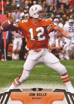 Amazon.com  Jim Kelly - Miami Hurricanes - 2014 Upper Deck Football ... 41a06f482
