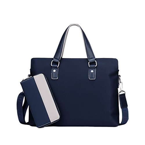 Of Blue Shoulder Section medium Cross People Paper The Bag The Informal Hand Men Business Bag Working Young In TwzFrTqn