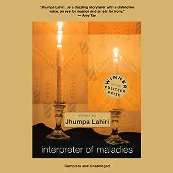 Of lahiri pdf maladies interpreter by jhumpa