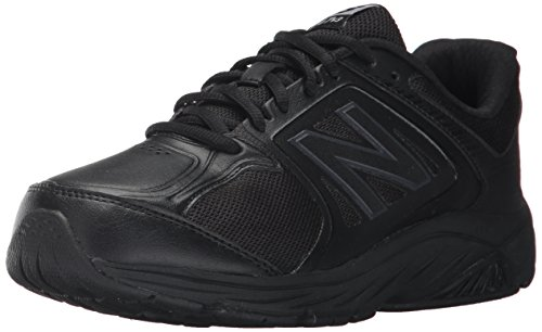 Black WW847 New Synthétique Black Marche Balance de Chaussure qqgUY