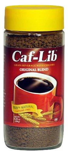 Caf-Lib Original Blend Grain Beverage, 5.25 oz Jars, 3 pk by Caf-Lib