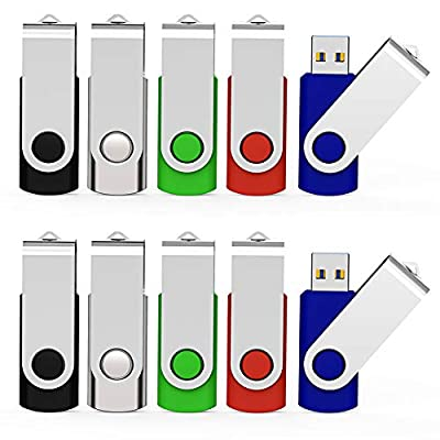 KEATHY Bulk Pack USB Flash Drive USB 2.0 Thumb Drives Jump Drive Memory Stick Pen from KEATHY