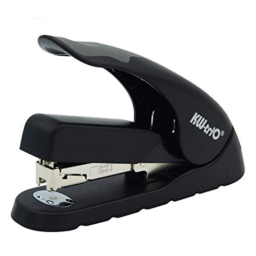 Desktop Staplers,40 Sheets Capacity,Full Strip,Heavy Duty, Manual Stapler,Black Stapler for Office Stapler Home School ()