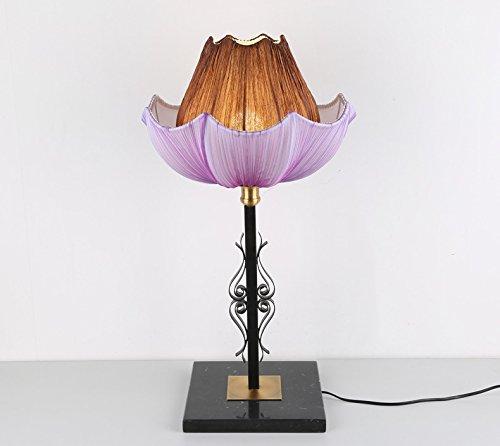 Light Arts Neue chinesische klassische Wohnzimmer Lampe Schlafzimmer Nachttischlampe Retro Study Schreibtischlampe