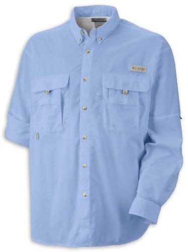 Columbia Sportswear hombres de Bahama II de manga larga Azul - vela