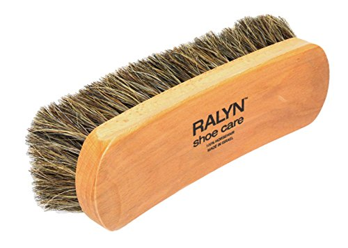 Ralyn Professional Shine Brush. For Boots and Shoes Brush Buffer Dark Bristles