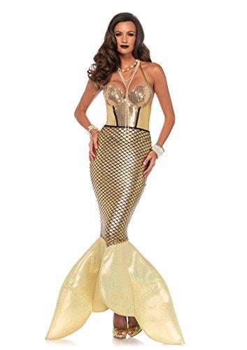 Disney Women's Glimmer Mermaid Costume,