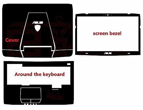 Amazon.com : Waterproof Special Laptop Black Carbon Vinyl Skin ...