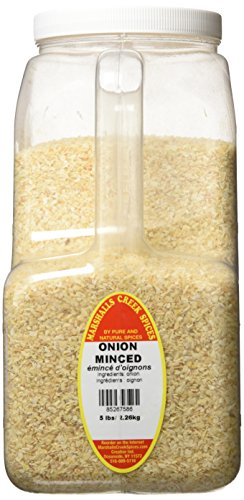 Marshalls Creek Spices Minced Onion, XX-Large, 5 Pound by Marshall's Creek Spices