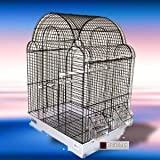 Asia Cage In White With White Tray