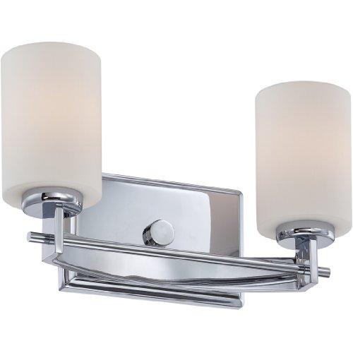 Quoizel TY8602C Taylor 2-Light Bath Light, Polished Chrome ()