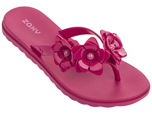 Zaxy Garden Women's Sandals (9, Pink) from Zaxy