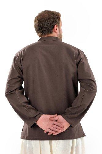 - Chemise surpiqure 1 bouton homme - L - (40-42)