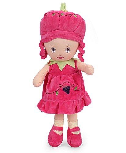 Starwalk Grape Plush Doll, Dark Pink (55cm)