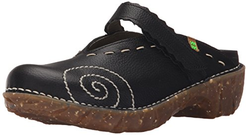 El Naturalista Ng96 Grain Black/Yggdrasil, Zoccoli Donna, Nero (Black N01), 36 EU