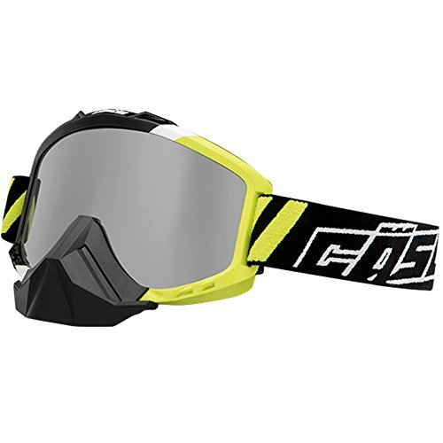 Castle Force SE X1 Snowmobile Goggles-Hi-Vis by Castle