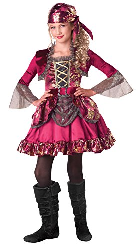 First Mate Pirate Dress Up Costume, Medium (8-10)