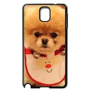 Samsung Galaxy Note 3 Case Cute Dog Christmas, Unique Dog & Cute Naza, {Black}