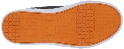 DC Shoes DC Shoes - Schuhe - BRISTOL YOUTH SHOE - D0303081-3BKD - black D0303081 - Zapatillas de skate de cuero para niño Negro (Schwarz (BLK/YELLOW/TURQ BYQD))