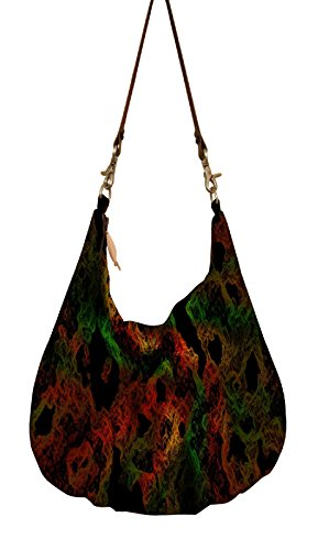 Snoogg , Sac bandoulière pour femme multicolore multicolore grand