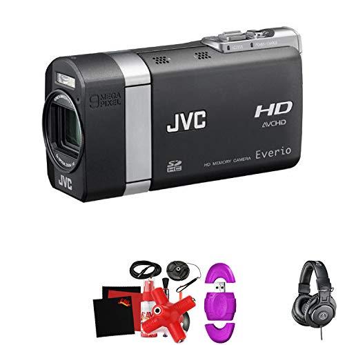 JVC GZ-X900 Everio X HD Memory Camera -Mega Accessory Bundle - (Tripods For Digital Cameras Jvc)