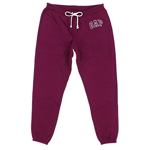 GAP Women's Sweatpant Logo (Maroon, X-Large) (Gap Womens Clothes)