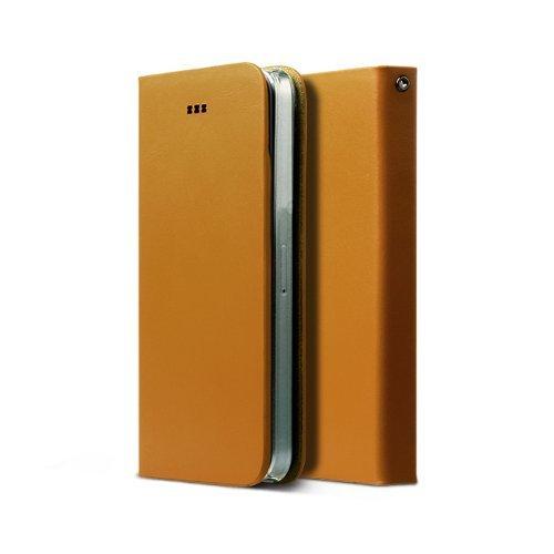 Zenus Signature Diary Case/Tasche Sand Beige für Apple iPhone 5/5S
