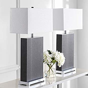 Amazon.com: Safavieh Lighting Collection Ollie Gris ...