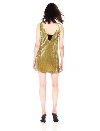 French Connection Womens Theresa Velvet Dress