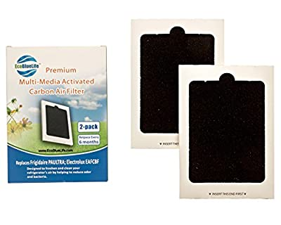 2-Pack Frigidaire Pure Air Ultra PAULTRA and Electrolux EAFCBF Compatible Premium Replacement Air Filters