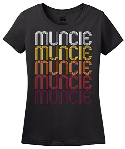 Muncie, IN | Retro, Vintage Style Indiana Pride T-shirt