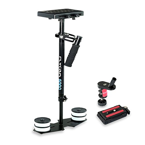 FLYCAM 5000 Video Stabilizer with Quick Release Plate Supporting Cameras weighing upto 5kg/11lbs - FREE Table Clamp (FLCM-5000-Q)