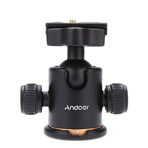 Andoer-Camera-Tripod-Ball-Head-Ballhead-with-Quick-Release-Plate-14