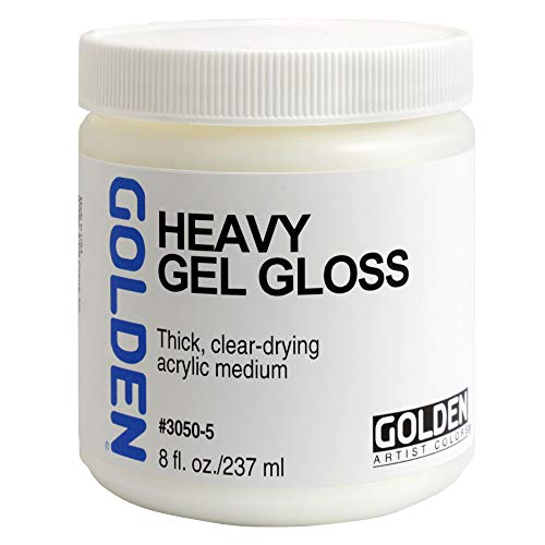 Heavy Gel (Golden Artist Colors - Heavy Gel Gloss - 8 oz Jar)