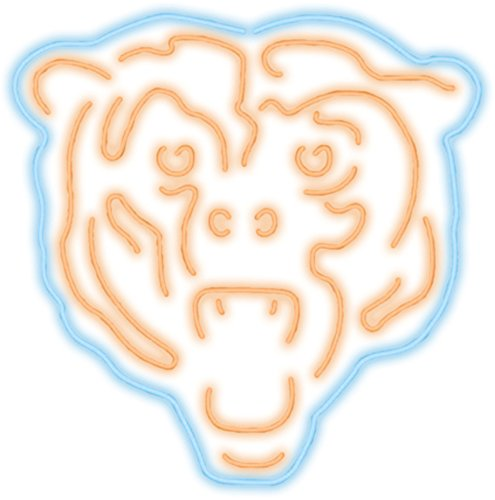 Imperial Officially Licensed NFL Merchandise: Neon Light, Chicago Bears