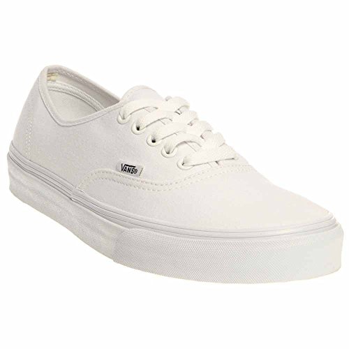 Vans Unisex Authentic(tm) Core Classics True White Sneaker Men's 9, Women's 10.5 Medium
