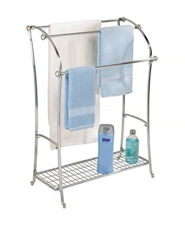 InterDesign Free Standing Floor Towel Holder