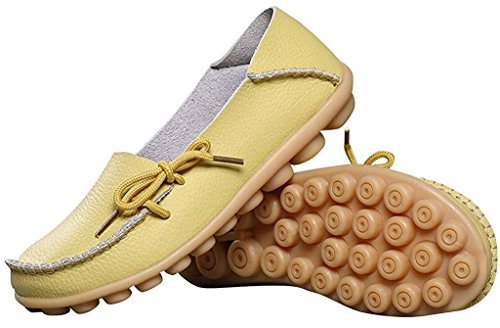 Fangsto Loafer Flats, Basses femme Celery